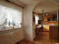 Obývací pokoj (Prodej bytu 2+1 v osobním vlastnictví 32 m², Borovany)