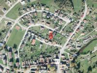 poloha domu v obci (Prodej domu v osobním vlastnictví 380 m², Dolní Dvořiště)