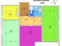 půdorys podkroví (Prodej domu v osobním vlastnictví 380 m², Dolní Dvořiště)