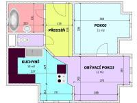 PLÁNEK (Prodej bytu 2+kk v osobním vlastnictví 52 m², Třeboň)