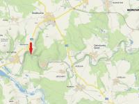 mapa (Prodej chaty / chalupy 47 m², Strážkovice)