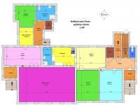 půdorys obytné části (Prodej domu v osobním vlastnictví 200 m², Haškovcova Lhota)