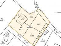 rozměry pozemku (Prodej domu v osobním vlastnictví 291 m², Jílové u Prahy)