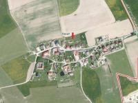 letecký pohled (Prodej pozemku 3185 m², Střítež)