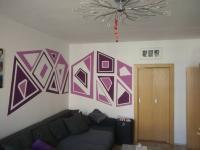 Obývací pokoj (Prodej bytu 3+1 v osobním vlastnictví 73 m², České Budějovice)