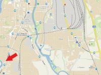 mapa (Pronájem obchodních prostor 120 m², České Budějovice)