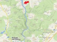 mapa (Prodej chaty / chalupy, Hluboká nad Vltavou)