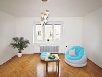 Obývací pokoj (Prodej bytu 2+1 v osobním vlastnictví 60 m², České Budějovice)