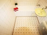 Koupelna (Prodej bytu 2+1 v osobním vlastnictví 60 m², České Budějovice)