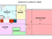 Prodej bytu 3+1 v osobním vlastnictví 132 m², České Budějovice