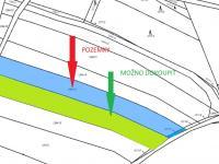 katastrální mapa (Prodej pozemku 3365 m², Heřmaň)