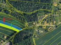 ortofoto mapa (Prodej pozemku 3365 m², Heřmaň)