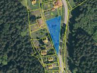Prodej pozemku 1421 m², Horní Stropnice