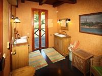 koupelna u ložnice (Prodej domu v osobním vlastnictví 220 m², Mirkovice)