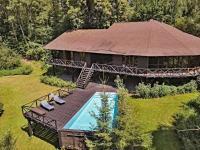 pohled na dům z jihu (Prodej domu v osobním vlastnictví 220 m², Mirkovice)
