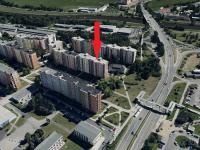 panorama (Prodej bytu 2+1 v osobním vlastnictví 41 m², České Budějovice)