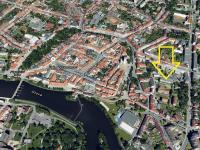 umístění v lokalitě (Prodej bytu 3+kk v osobním vlastnictví 82 m², Písek)