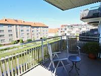 balkon (Prodej bytu 3+kk v osobním vlastnictví 82 m², Písek)