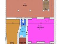 Půdorys přízemí - Prodej domu v osobním vlastnictví 450 m², Třeboň