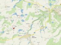 Mapa lokality (Prodej domu v osobním vlastnictví 157 m², Horní Stropnice)
