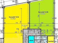 půdorys VI/A a VI/B - Pronájem kancelářských prostor 87 m², České Budějovice
