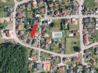 mapa - Pronájem domu v osobním vlastnictví 181 m², Hlincová Hora