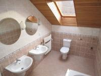 koupelna v patře - Pronájem domu v osobním vlastnictví 181 m², Hlincová Hora