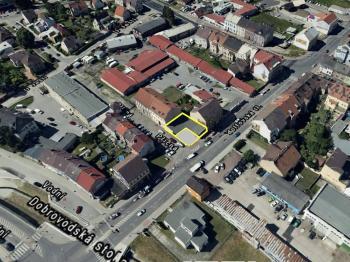 Umístění objektu - Pronájem obchodních prostor 158 m², České Budějovice