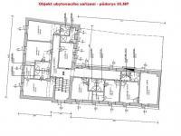půdorys III.NP (Prodej hotelu 510 m², Benešov nad Černou)
