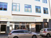 vstup ze Široké ulice - Pronájem obchodních prostor 185 m², České Budějovice