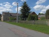statek s asfaltovou příjezdovou cestou - Prodej zemědělského objektu 363 m², Albrechtice