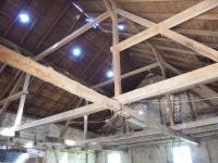 střecha stodoly - Prodej zemědělského objektu 363 m², Albrechtice