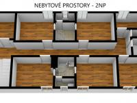 Nebytové prostory v 2NP - Prodej nájemního domu 706 m², Lanškroun