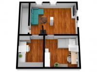 vizualizace podkroví - Prodej domu v osobním vlastnictví 125 m², Rychnov nad Kněžnou