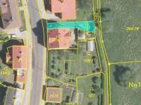 vymezení pozemků zahrnutých v nabídce - Prodej penzionu 316 m², Žacléř