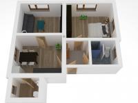 Prodej bytu 3+kk v osobním vlastnictví 58 m², Hnátnice