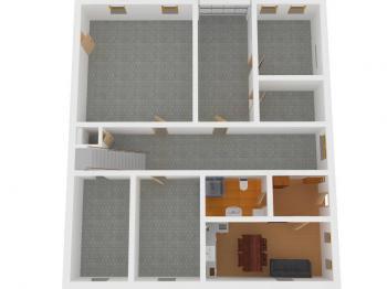 přízemí - Prodej domu v osobním vlastnictví 370 m², Hrádek