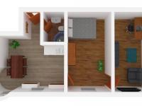 možný budoucí stav - Prodej bytu 2+kk v osobním vlastnictví 50 m², Vítkovice