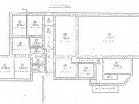 Půdorys přízemí - Prodej domu v osobním vlastnictví 388 m², Olešnice