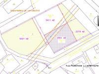 dělení je variabilní - Prodej pozemku 3411 m², Rudoltice