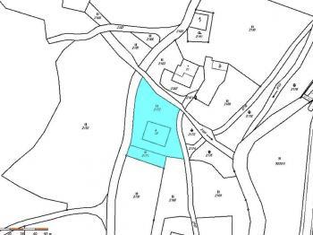 Katastrální mapa - Prodej pozemku 1958 m², Dolní Morava