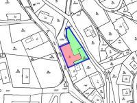 Katastrální mapa - Prodej komerčního objektu 739 m², Lanškroun