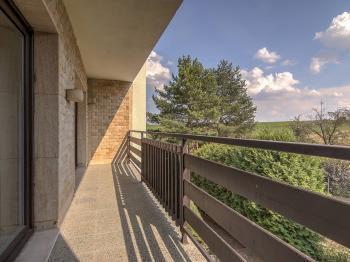 2NP výhled z lodžie - Prodej domu v osobním vlastnictví 380 m², Slatinice
