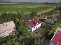 Pohled na pozemek - Prodej domu v osobním vlastnictví 380 m², Slatinice