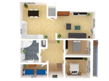 2NP - Prodej domu v osobním vlastnictví 380 m², Slatinice
