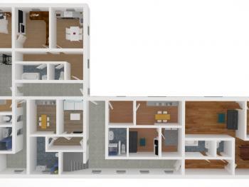budovaných bytů v přízemí - Prodej domu 350 m², Letohrad