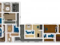 model vybudovaných bytů v přízemí - Prodej domu 350 m², Letohrad