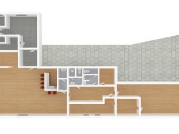model - současný stav - Prodej domu 350 m², Letohrad