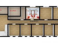 současných 8 pokojů v pensionu (Prodej hotelu 1200 m², Ústí nad Orlicí)