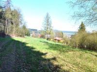 pohled od lesa  - Prodej pozemku 2778 m², Česká Třebová